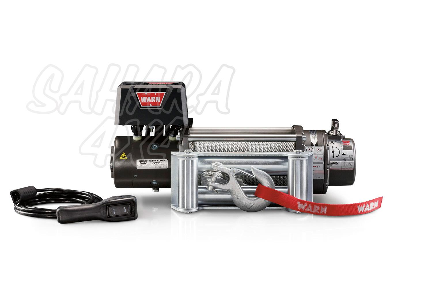 hight resolution of warn winch m8000 24v 3600 kg compact tough and reliable