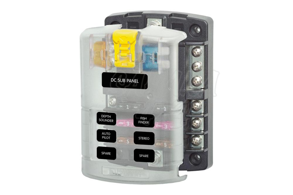 medium resolution of blue sea systems fuse box suitable for 12v 32v installations