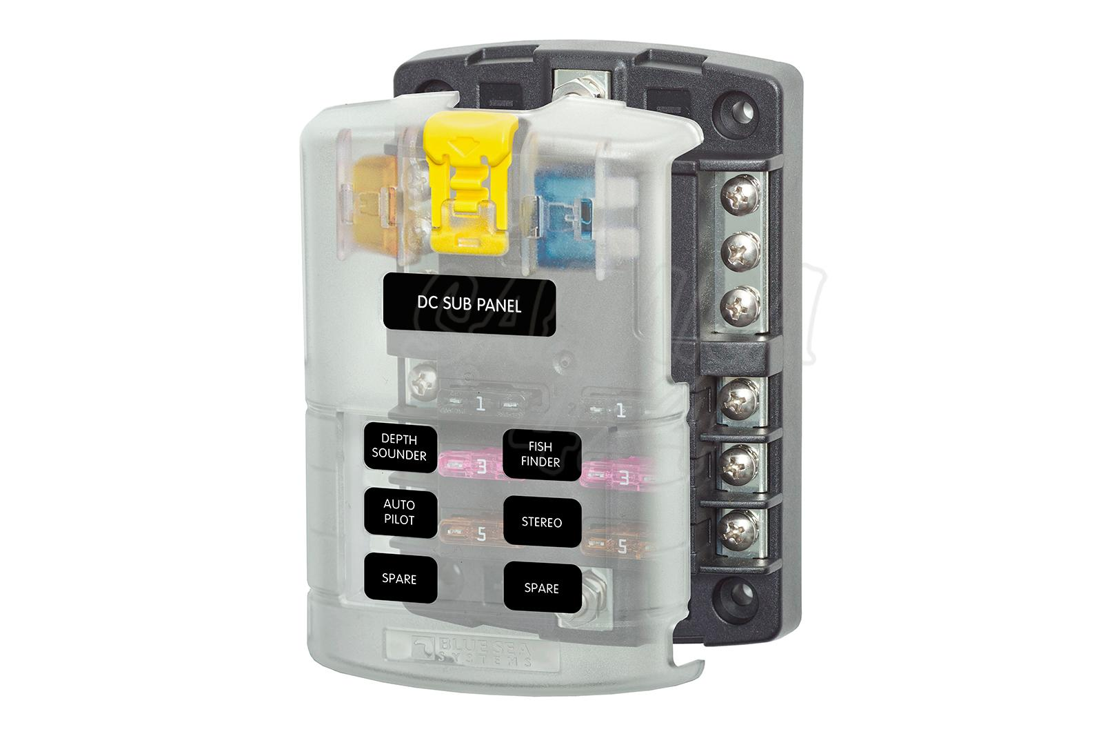 hight resolution of blue sea systems fuse box suitable for 12v 32v installations