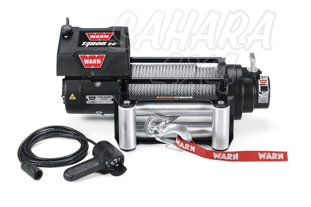 medium resolution of winch warn tabor 8k 12v great for lighter trucks jeeps and suvs