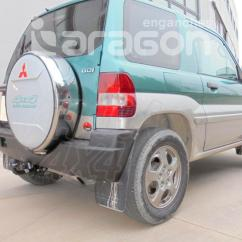 Mitsubishi Pajero Io Wiring Diagram 12 Volt Dc Relay Tow Bar Harness Solutions
