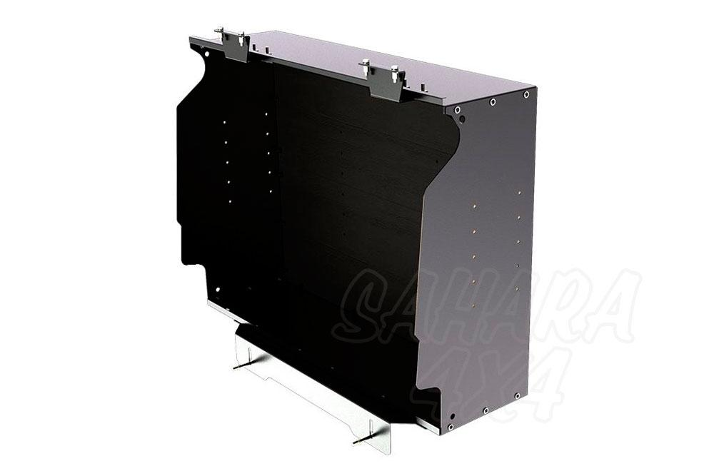 medium resolution of land rover defender puma gullwing box the front runner gullwing box is used in conjunction with the front runner gullwing window glass or front runner