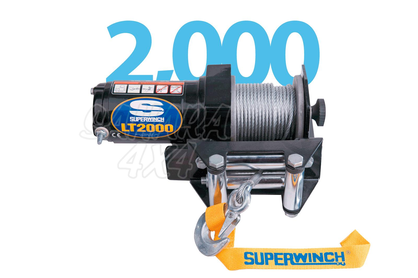hight resolution of superwinch lt2000 atv 907kg electric winch 12v
