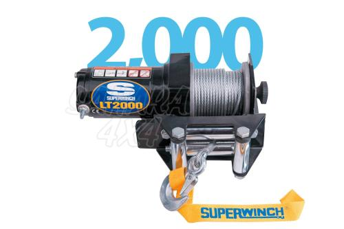 small resolution of superwinch lt2000 atv 907kg electric winch 12v