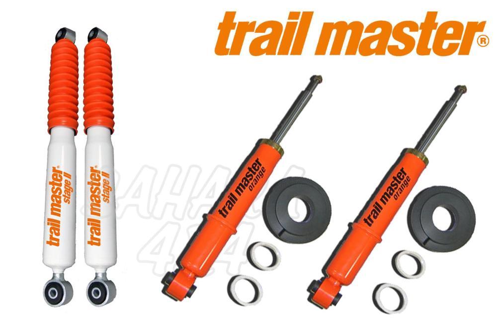 medium resolution of kit 4 trail master shocks stage ii volkswagen t3 4wd syncro complete kit 4 shocks