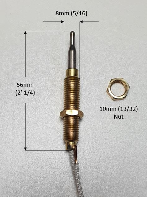 thermocouple for patio heater wide thread