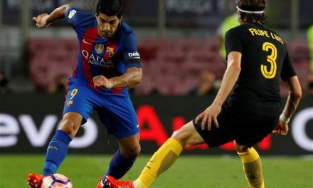 Luis Suarez hits back at Filipe Luis' complaint on Instagram