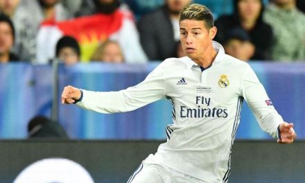 Real Madrid's James and mother receive death threats on Twitter