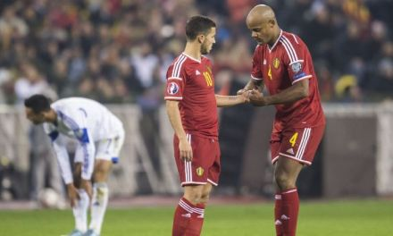Eden Hazard to captain Belgium, not Vincent Kompany – Roberto Martinez