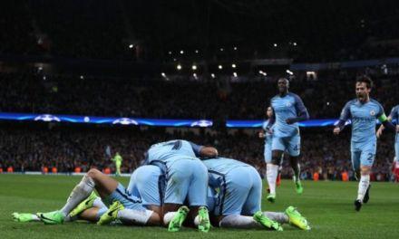 Man City edge eight-goal thriller in UCL against Monaco