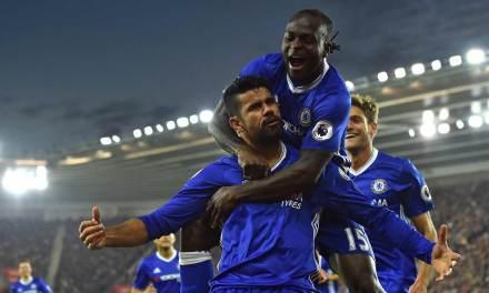 Diego Costa Brace Leads Chelsea Romp Over Saints