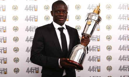 Kante Named PFA Player Of The Year, Alli Bags Young Player Award