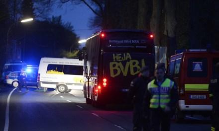 Police Detain Suspect In Dortmund Bus Explosion