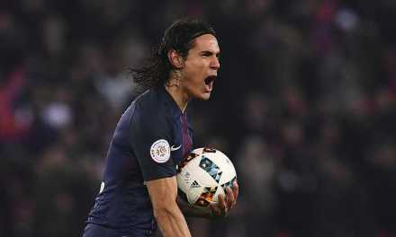 Cavani named Ligue 1 player of the year as six Monaco players make team of the season