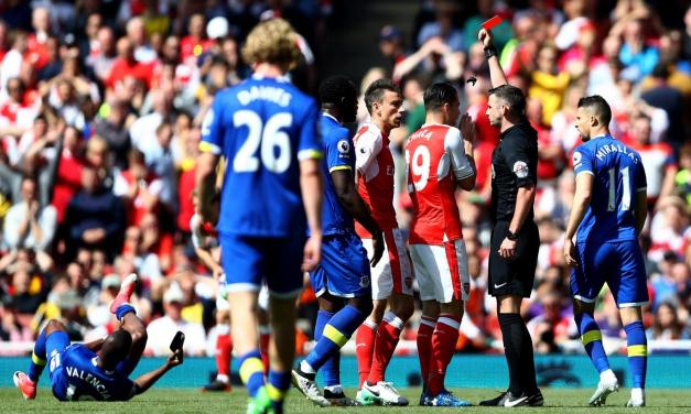 FA Reject Red Card Appeal, Koscielny  To Miss FA Cup Final