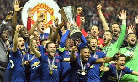 Manchester United Clinch Europa League Trophy