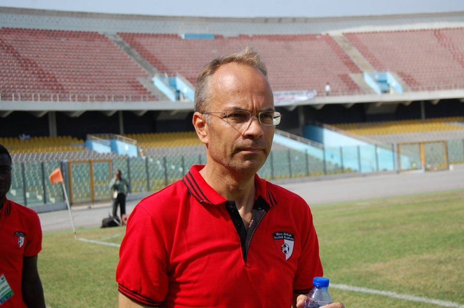 Klavs Rasmussen, the head coach of West African Football Academy