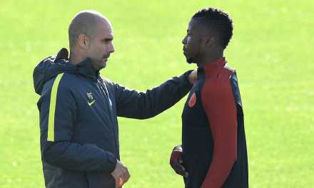 """Pep Guardiola says it was an """"honour"""" to work with Kelechi Iheanacho as striker closes in on £25m Leicester switch"""