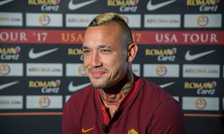 Radja Nainggolan signs new Roma contract until 2021