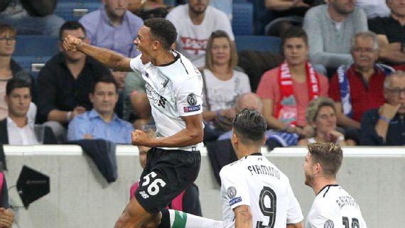 Liverpool Edge First Leg Of Playoff Against Hoffenheim