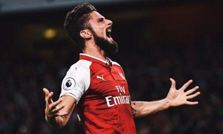 Giroud seals dramatic opening win for Arsenal