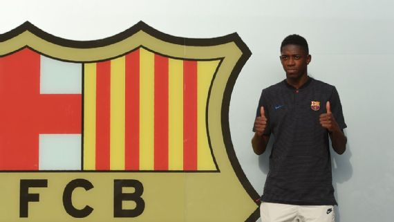 Ousmane Dembele turned down Real Madrid, Paris Saint-Germain to join Barcelona