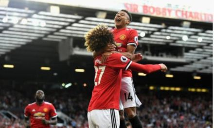 Rashford, Felliani Score To Keep United Perfect