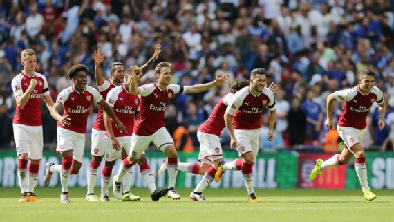 Arsenal Beat Chelsea On Penalties To Win Community Shield