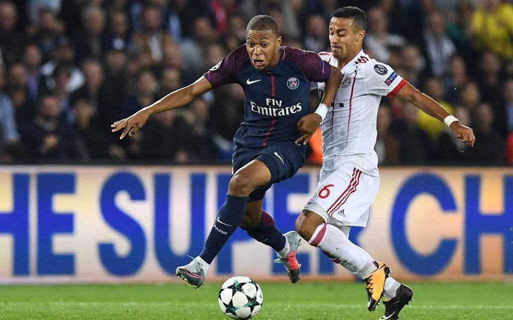 "Rio Ferdinand tells Kylian Mbappe to ""get out of the stadium"" after ""illegal"" skill for PSG vs Bayern"