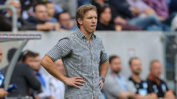 Hoffenheim's Julian Nagelsmann coy on Bayern job after Carlo Ancelotti axe