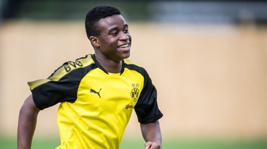 Youssoufa Moukoko, 12, hits 16 goals in seven games for Dortmund U17s