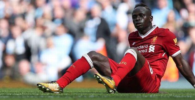 Liverpool's Sadio Mane facing six weeks out with hamstring injury