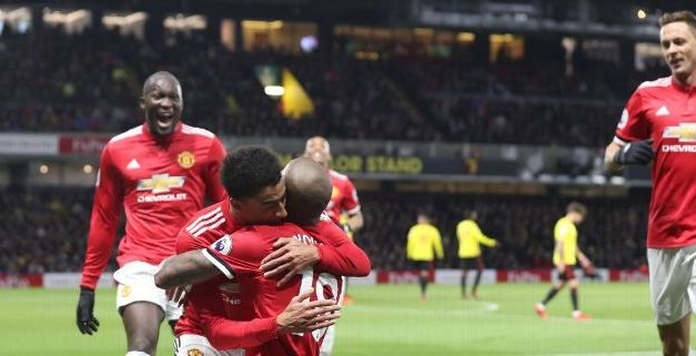 United Cruise At Watford Despite Late Scare, Spurs Slump To Defeat At Leicester