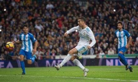 Ronaldo Ends Goal Drought As Madrid Edge Malaga