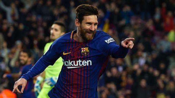 Lionel Messi and Luis Suarez net in Barcelona win over Levante