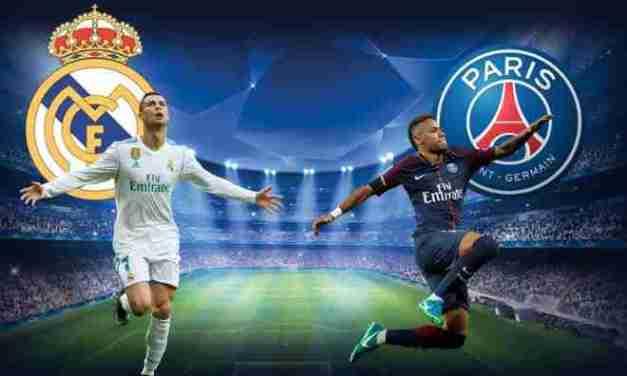 LIVE STREAM : REAL MADRID VS PSG (CHAMPIONS LEAGUE)