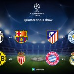 Barcelona vs AS Roma, Liverpool vs Man City, Quarter Final Draw In Full