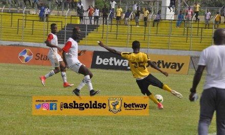 Ghana Premier League: Ashanti Gold beat Karela to maintain perfect start