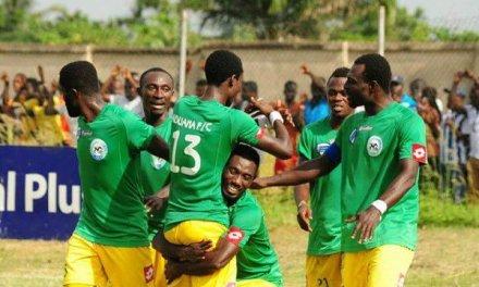 Aduana Stars 1-1 Berekum Chelsea – Emmanuel Akuoko's late leveler saves the blushes of Aduana Stars in 'Bono' derby