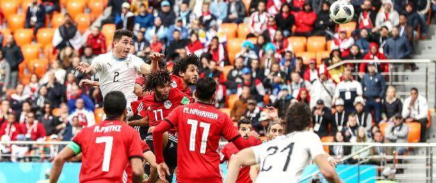 Jose Gimenez Header Breaks Egyptian Hearts Late On