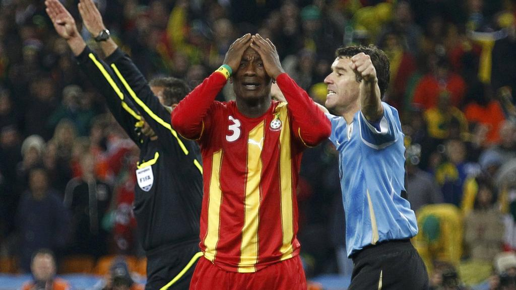 Where are they now? The Ghana Black Stars XI defeated by Uruguay in the 2010 World Cup