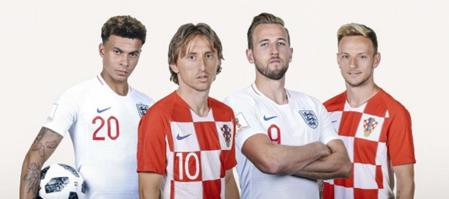 LIVE STREAM: CROATIA VS ENGLAND (WORLD CUP RUSSIA 2018)