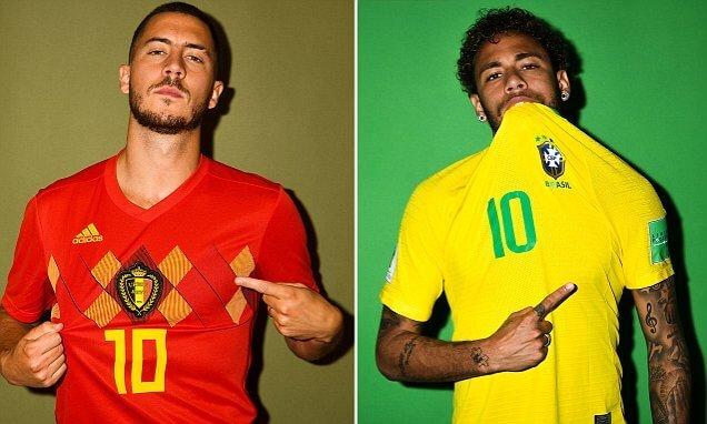 LIVE STREAM: BRAZIL VS BELGIUM (WORLD CUP RUSSIA 2018)