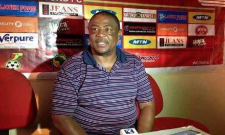 Paa Kwesi Fabin says team is still work in progress after Kotoko beat Hearts in friendly
