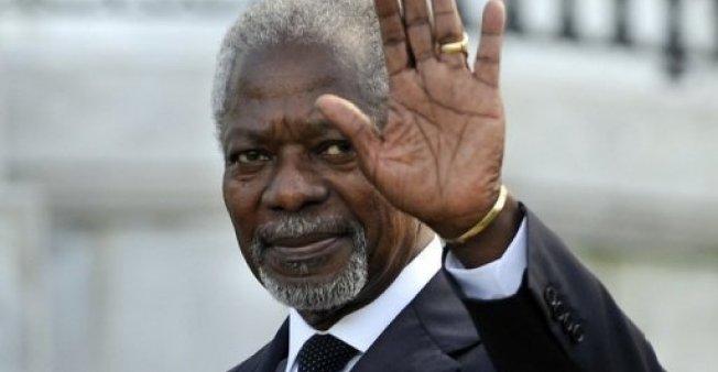 Ghana midfielder Kwadwo Asamoah pays tribute to diplomat Kofi Annan