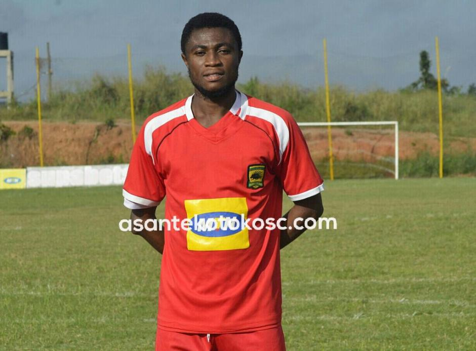 Asante Kotoko winger Emmanuel Gyamfi