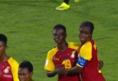 The Black Maidens of Ghana thrashed hosts Uruguay