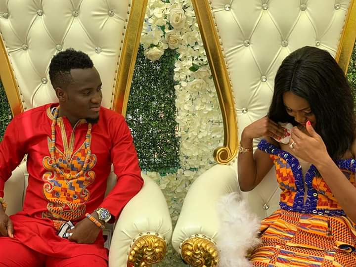 Black Stars striker David Accam weds Black Queens striker Florence Dadson