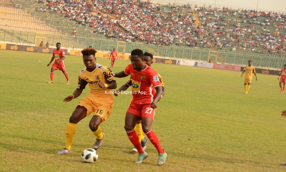 Fans unhappy with the outcome of the J.A Kufuor Cup game between Kotoko and Ashgold