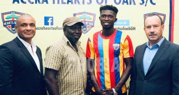 Hearts Of Oak sign Charles McCarthy from Elmina Sharks